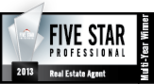 Texas Monthly 5-Star Real Estate Agent